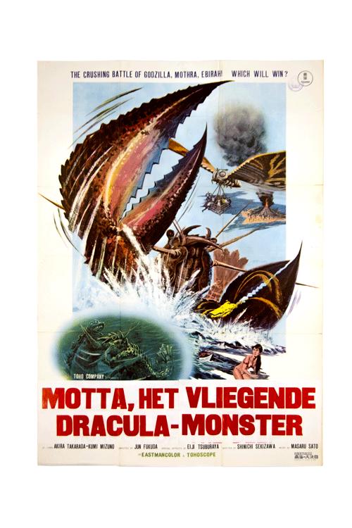 Motta, Het Vliegende Dracula Monster poster