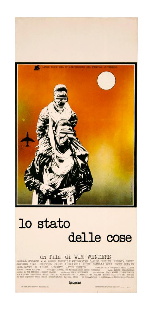 Original poster Wim Wenders Der Stand der Dinge