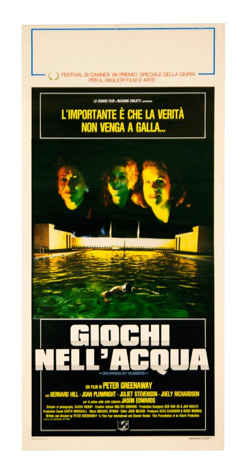 Original Peter Greenaway film poster
