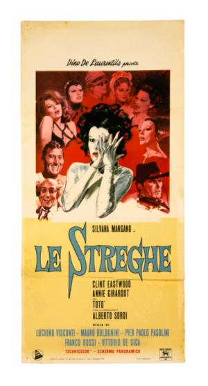 La Strada original film poster Clint Eastwood by Pasolini Visconti de Sica