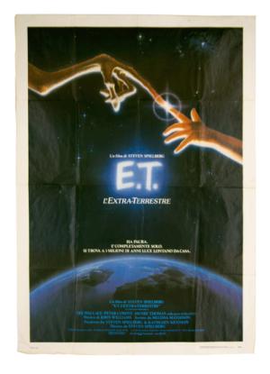 Original film poster ET Steven Spielberg