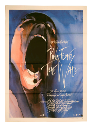 Original poster from The Wall Pink Floyd