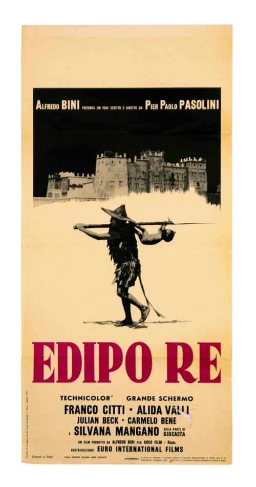 Original Poster Edipo Re from Pier Paolo Pasolini