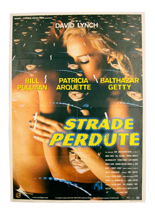 David Lynch poster Lost Highway Italian