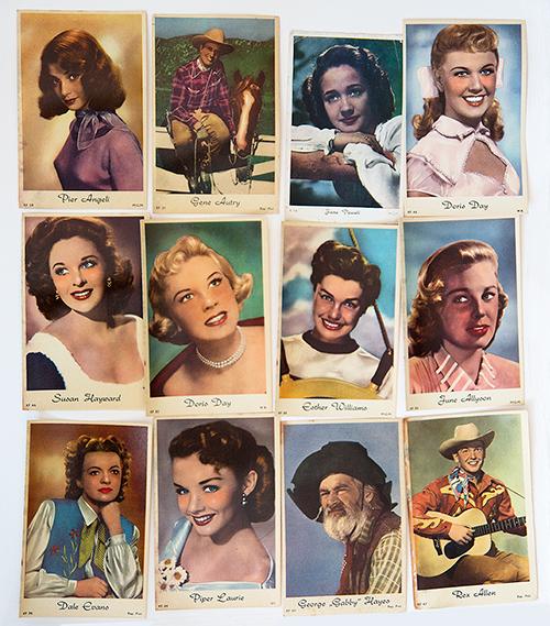 Vintage kauwgomplaatjes