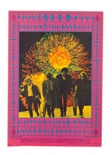 Psychedelic poster 60's