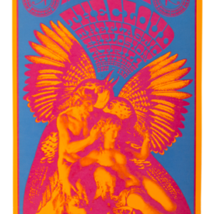 Psychedelic poster 60's The Cloud The plastic explosion