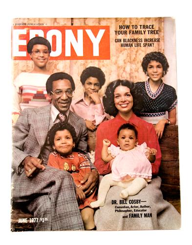 Vintage magazine Bill Cosby Ebony