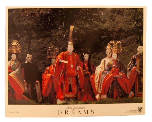 Akira Kurasawa lobbycard Dreams