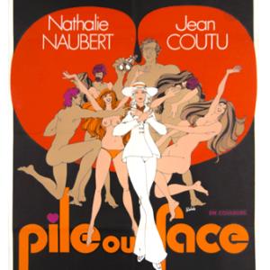 Pile ou face poster Rogier Fournier 1971 Erotic movie