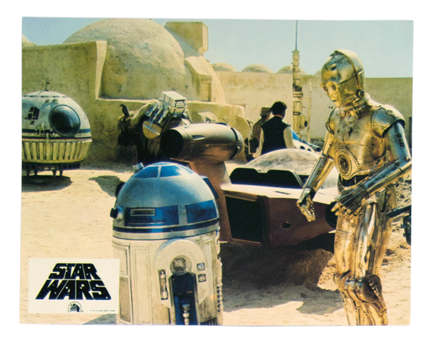 Original Star Wars lobbycard