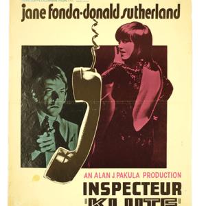 Original film poster Klute