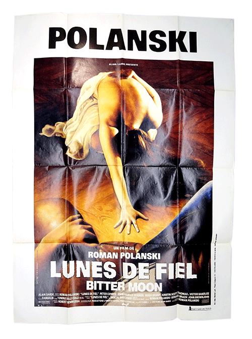 French poster Bitter Moon by Roman Polanski