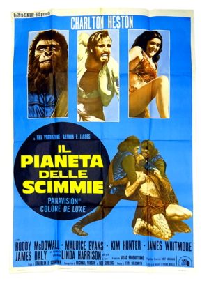 Original poster Planet of the Apes