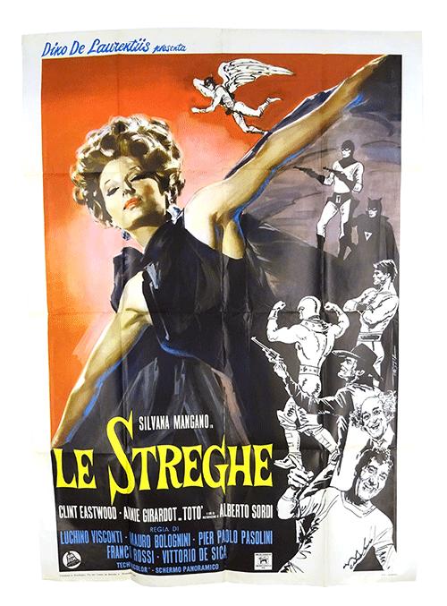 Le Streghe original film poster