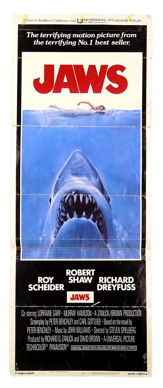 Original Jaws poster, Cine Qua Non