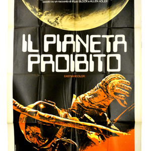 The Forbidden Planet poster