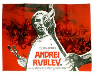 Andrei Rublev Original poster