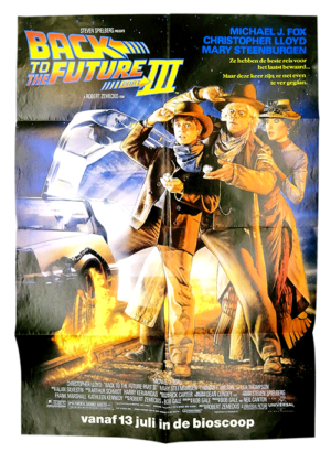 Back to the Future III poster