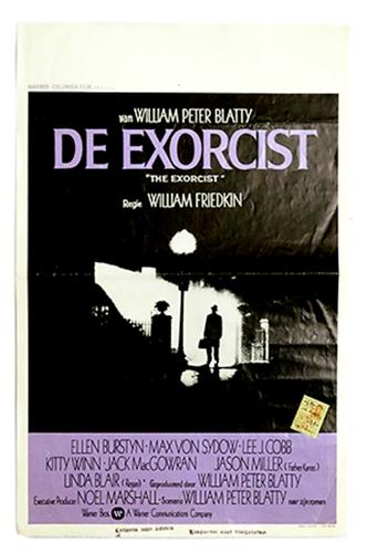 The Exorcist original poster