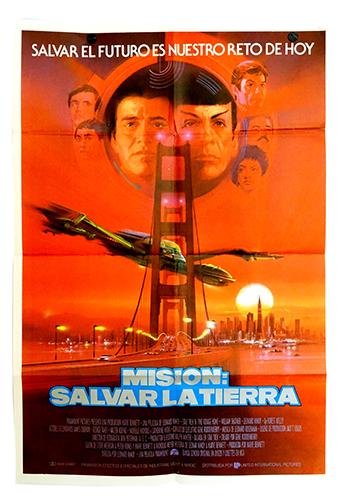 Star Trek 4 poster
