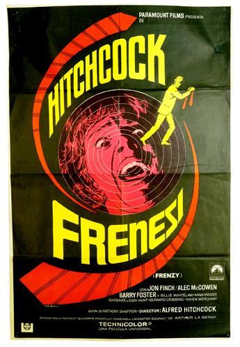Frenzy Original film poster