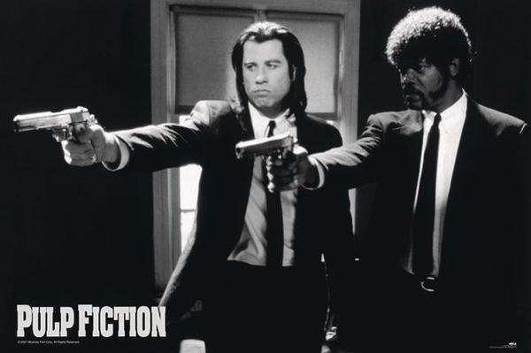Pulp Fiction XL poster