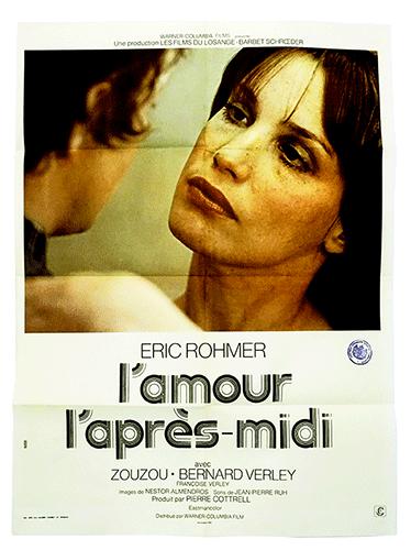 l'Amour l'apres midi poster