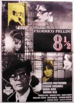 8.5 Fellini Poster