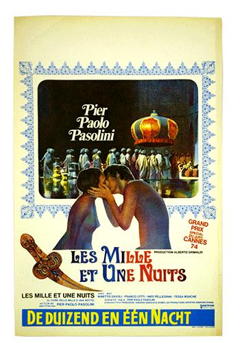 Les Mille et une Nuits poster