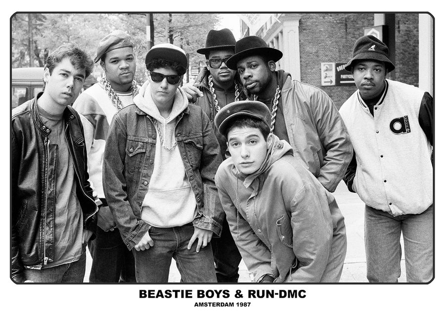 Beastie Boys & RUN-DMC poster
