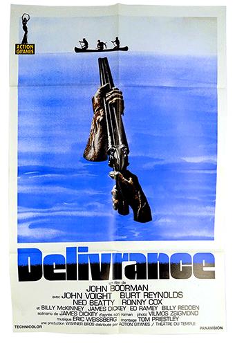 Deliverance original poster