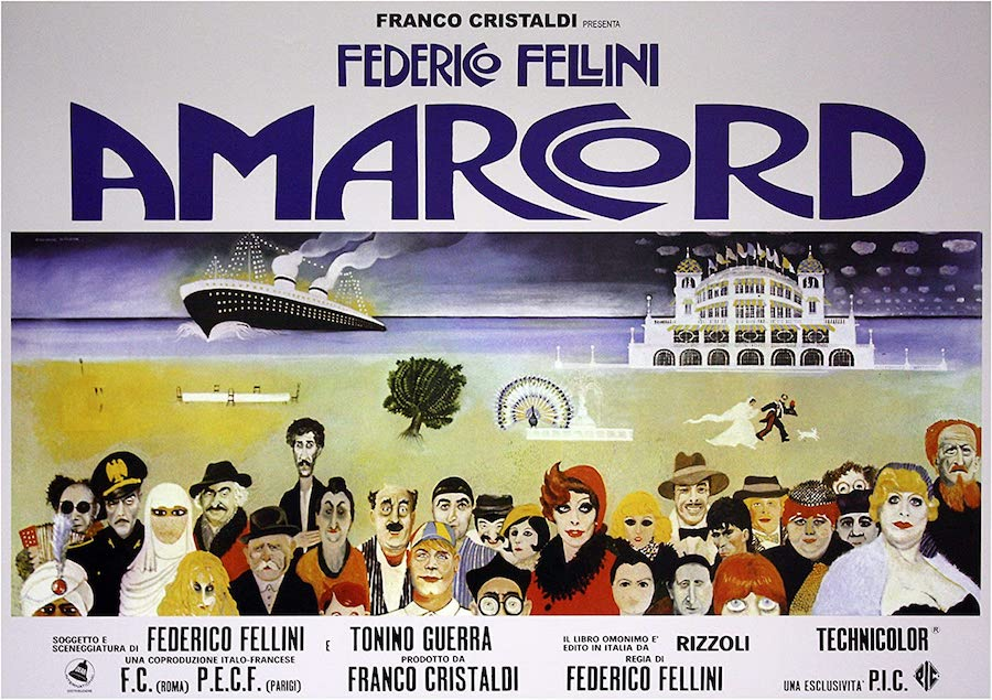 Poster Amarcord