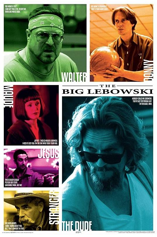 Poster The Big Lebowski