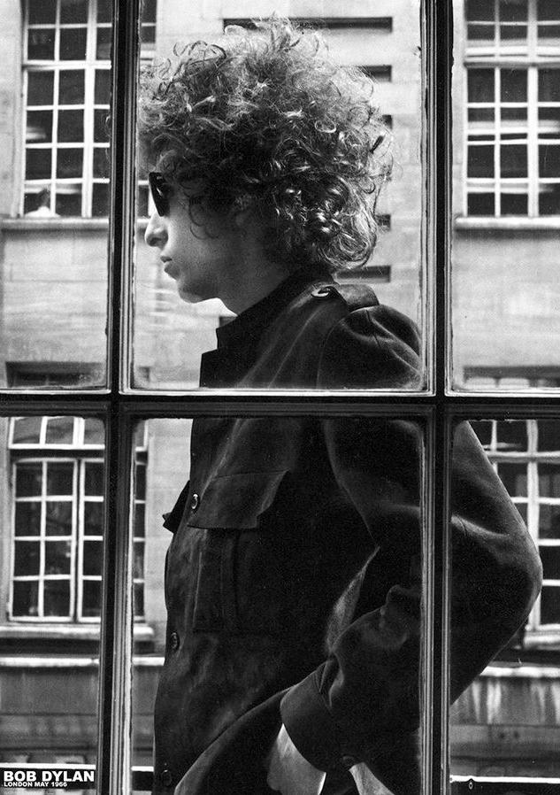 Poster Bob Dylan London
