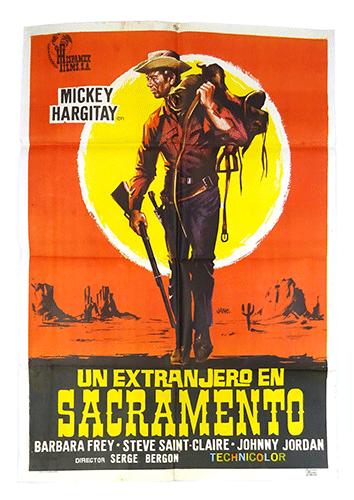 Un Extranjero en Sacramento poster