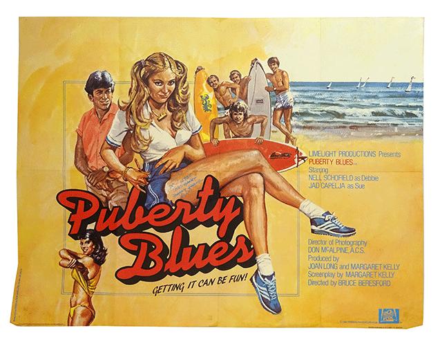 Poster Puberty Blues