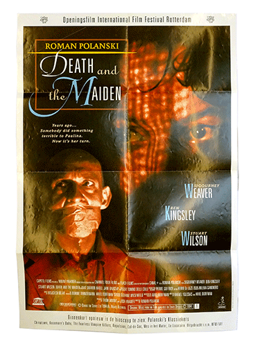 Poster Death and the Maiden