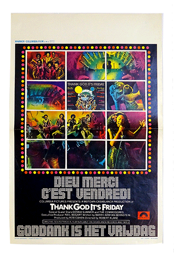 Thank God it's Friday poster