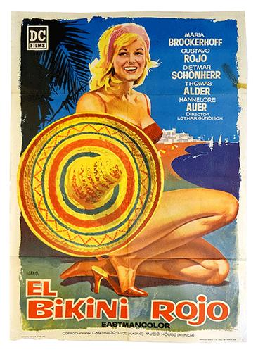 El Bikini Rojo poster