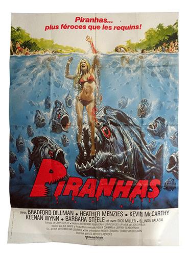 Piranhas film poster