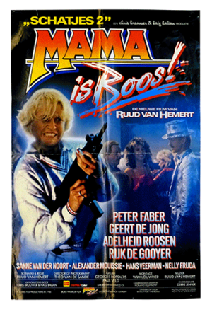 Mama is boos! poster